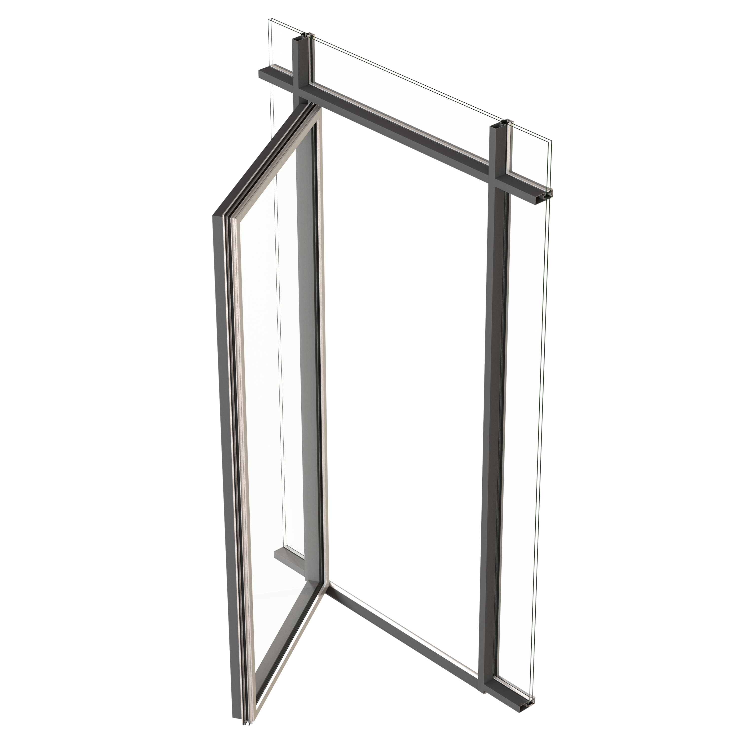 VISS side-hung/pivot door