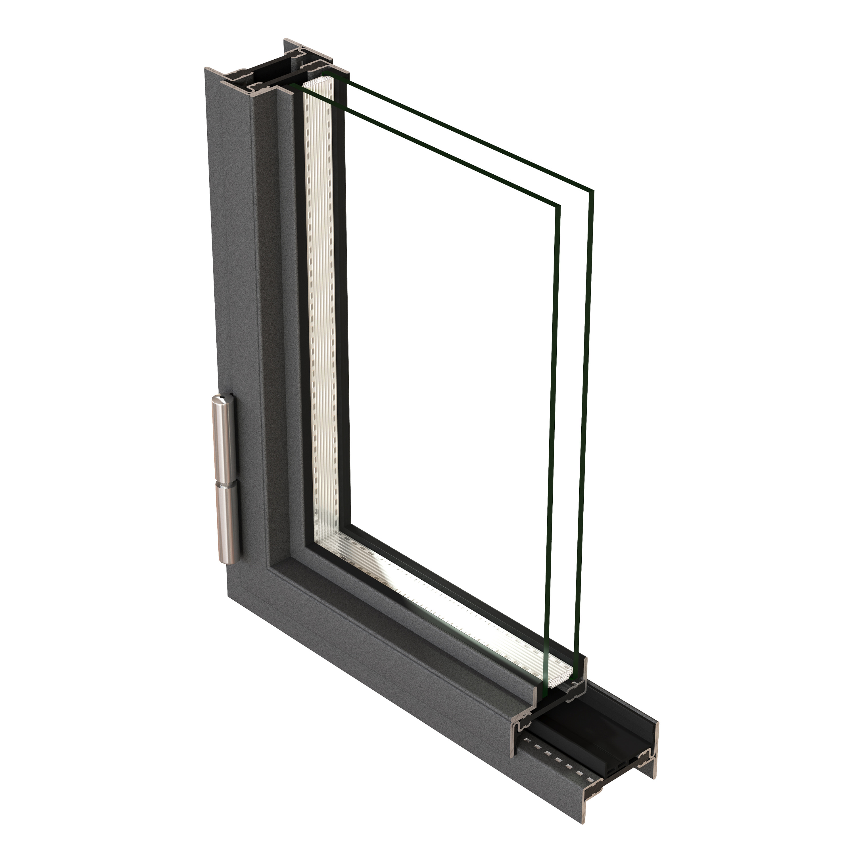 Schwingflügelfenster detail  Janisol Arte 2.0 - schmale Fenster & hohe Wärmedämmung für Sanierung ...