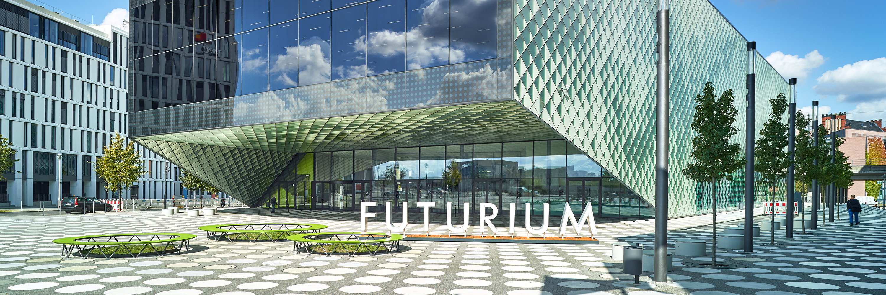 Futurium Berlin Mediencenter Jansen Building Systems