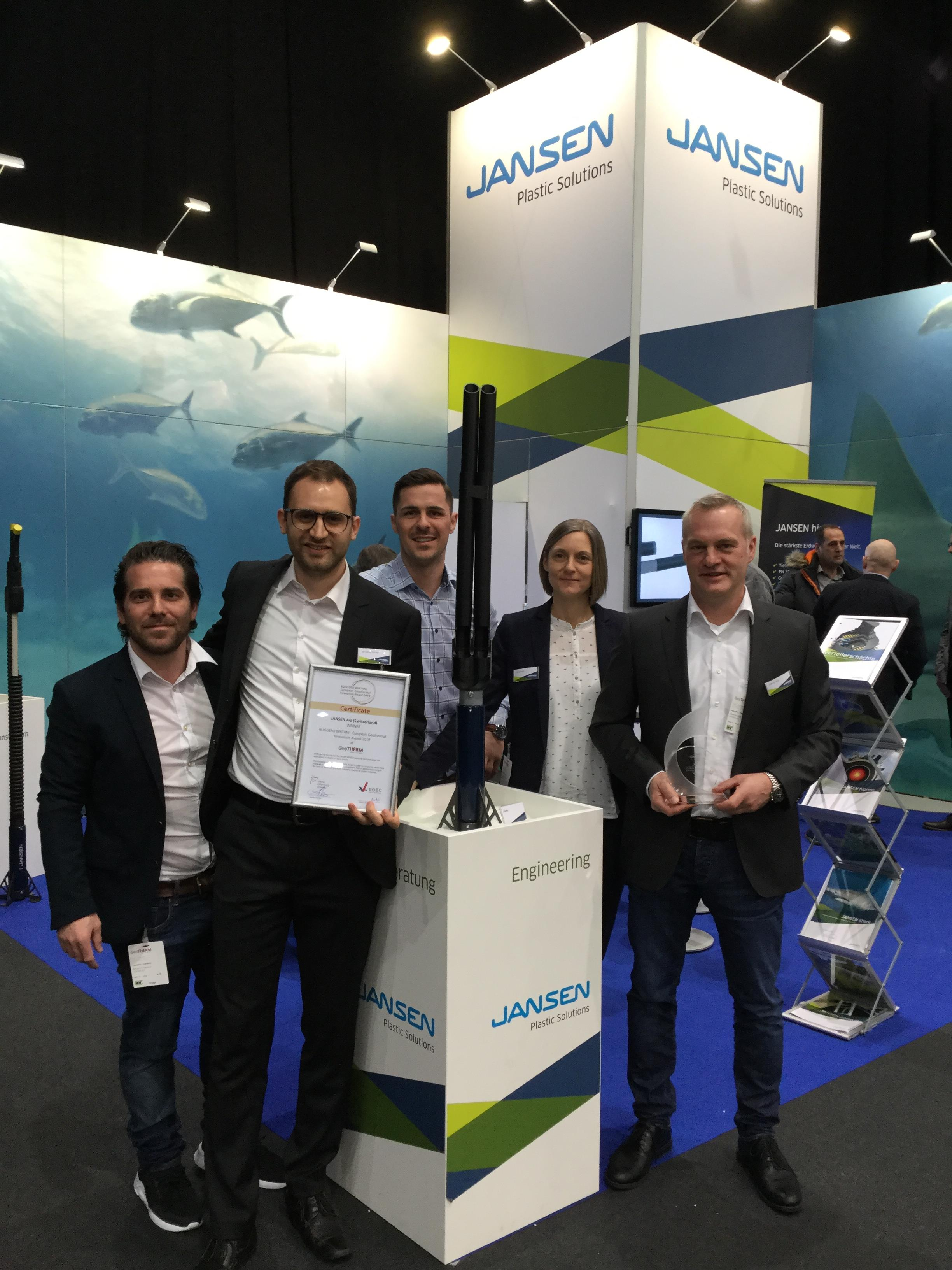 Jansen Jansen Gewinner European Geothermal Innovation