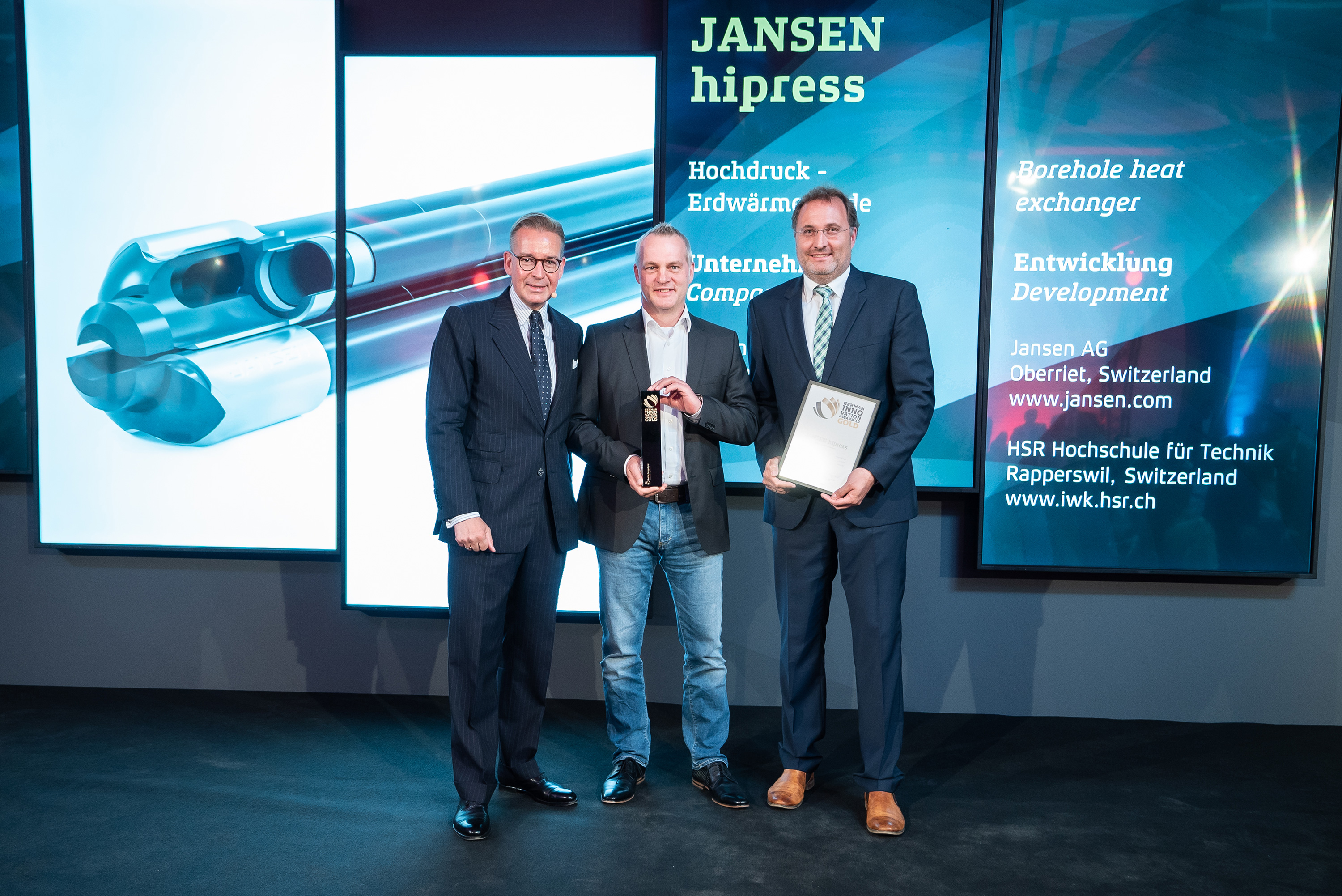 Jansen Jansen gewinnt den German Innovation Award