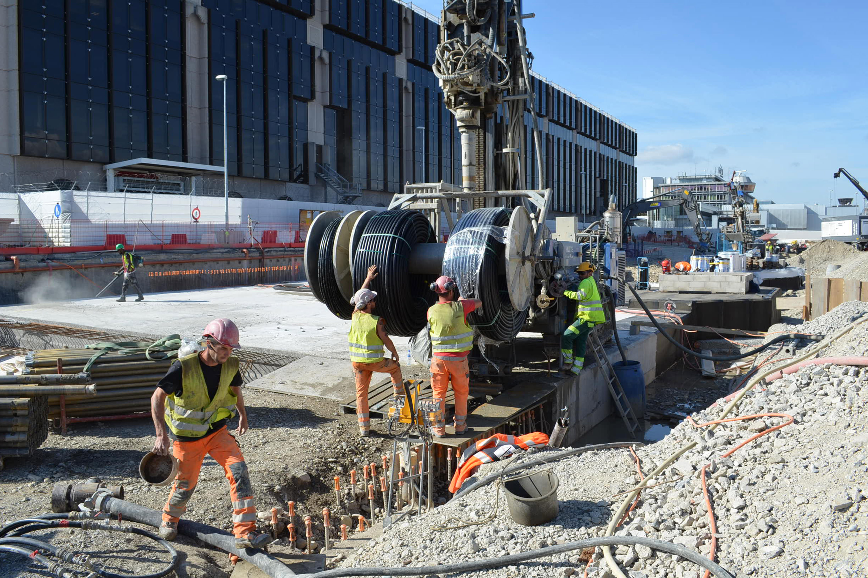 Airport Geneva: taking off with powerful geothermal energy